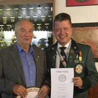 Helmut Sykora seit 50 Jahren an der Spitze