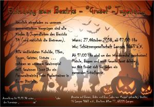 Halloween Bezirksjugendtag @ Schützengesellschaft Langen 1863 e.V.