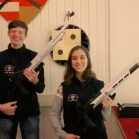 Bezirksmeisterschaft Luftgewehr Team Mix war spannend wie nie